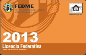 Tarjeta federativa 2011
